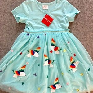 NWT Hanna Andersson Tulle Bird Dress (size 8)